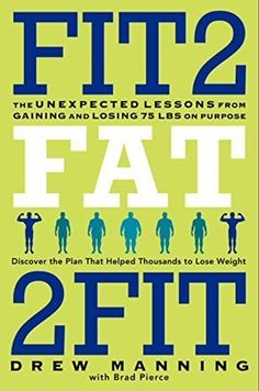 Download free Fit2Fat2Fit: The Unexpected Lessons from Gaining and Losing 75 lbs on Purpose by Drew Manning (2013-06-04) pdf