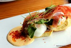 Eggs Benedict Barceloneta Restaurant Review South Beach Miami - Places to eat in Miami