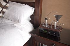 JUST TAKE MY MONEY!  Start Your Morning Right With an Alarm Clock That Makes You Coffee | Mental Floss