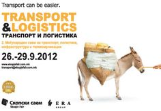 Transport – Skopje Fair  +++  Runner-up 16th International Fair Poster Competition