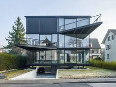 jan kinsbergen realizes his house in nidau to celebrate mies van der rohe