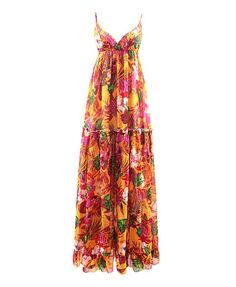 Strappy Backless Chiffon Dress with Floral Print - Casual Dresses - Dresses - Clothing