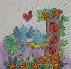 Bluebirds of Happiness and Friends