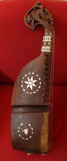 RUBAB - ANTIK - AFGHANISTAN LUTE - RABAB - REBAB - OUD - VERY RARE !! Top Sound! | eBay