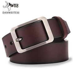 [DWTS]Cow leather belt men male genuine leather strap belts for men buckle fancy vintage jeans cintos masculinos ceinture homme Thick Leather, Leather Buckle, Leather Belts, Cow Leather, Men's Belts, Real Leather, Leather Accessories, Fashion Accessories, Vintage Accessories