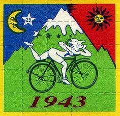 Albert Hoffman's magical bike ride, '43