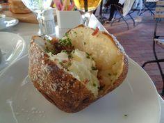 Photo of Selanne Steak Tavern - Laguna Beach, CA, United States. Salt Crusted Baked Potato