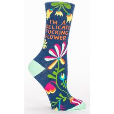 Delicate F *** Ing Flower Women ' S Socks