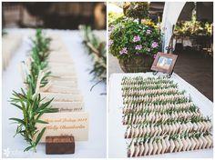 Wedding: Chris & Lindsay | Pala Mesa Resort, Fallbrook | Analisa Joy Photography | San Diego, CA Wedding Photographer » Analisa Joy Photography; wooden holders