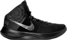 df49d6c91d5 NIKE AIR PRECISION EXCLUSIVE BASKETBALL Boots shoes sneakers 898455-101  Black  Nike  AthleticSneakers