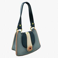 373ef822c3d Handbag 3D Model .max .c4d .obj .3ds .fbx .lwo .