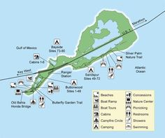 Florida Keys Map With Mile Markers.20 Best Kayak Bahia Honda Images Florida Keys The Florida Keys