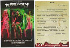 34. Frankenhottie poster (Pulp horror)