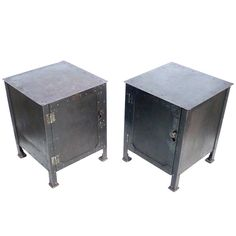 1920s Steel Endtables
