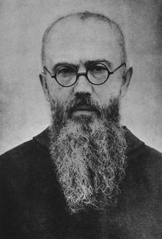 Saint Maximilian Maria Kolbe, was a Polish Franciscan friar, who volunteered to die in place of a stranger in the Nazi German death camp of Auschwitz, during World War II. Catholic Art, Catholic Saints, Maximillian Kolbe, St Maximilian, Prayer For Family, Archetypes, Wallpaper Quotes, Christianity, Faith