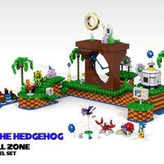 The Sonic the Hedgehog series is all about being creative with how you play- the fluidity of the controls allow the player to think outside the box to explore and find secrets within the iconic zones Sonic runs through. This modular set allows you to build and design your own Sonic levels with objects and badniks accurate to the original games. Sonic's always been a huge part of my life, as well as LEGO, and this set is something I always hoped would happen as a child. Many of the included…
