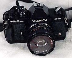 Yashica FX-3 2000 SLR Camera - camera i'm currently using to shoot. (film photography)
