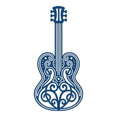 TATTERED LACE GUITAR  The Tattered Lace Guitar. Tattered Lace Dies are metal dies that can be used for die-cutting and embossing. These universal dies can be used in most tabletop die cutting machines.  http://www.perfectparchmentcraft.com/shop/die-cutting-and-embossing/