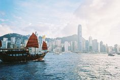 Hong Kong when I was 20 went  and was so tripped out when I first was in my hotel room I stood at the window looking at the harbor and cried out Hong Kong over and over...I feel for junks too