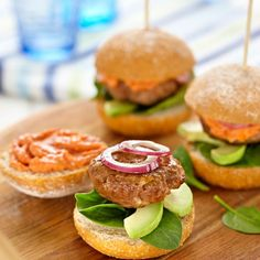 Collect this Beef Sliders With Tomato Mayo recipe by Everyday Delicious Kitchen. MYFOODBOOK.COM.AU | MAKE FREE COOKBOOKS
