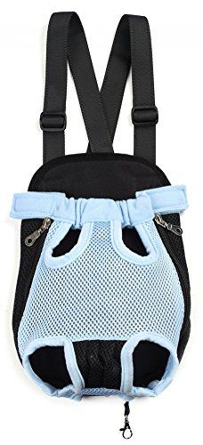 Mangadua Pet Dog Cat Backpack Carrier Puppy Pouch Cat Front Bag or Back Pack with Legs out for Small Dogs Cats * Want additional info? Click on the image.