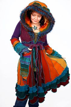 Carousel Coat by katwise via Etsy