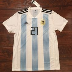 2018 Argentina Home Jersey  21 DYBALA Large ADIDAS World Cup Soccer  Juventus NEW Discount Price 99.00 Free Shipping Buy it Now f58844539