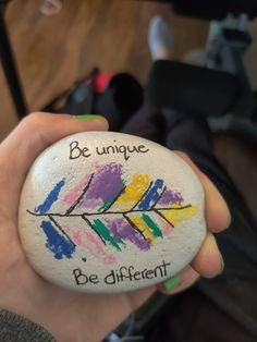 Be unique, be different $12 + shipping and handling Painted Rocks For Sale, Hand Painted Rocks, Unique