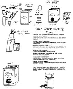 another rocket stove diagram