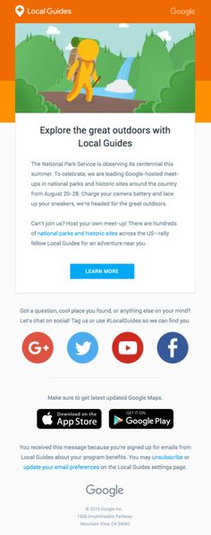 The Best Email Designs in the Universe (that came into my inbox) Email Design, Web Design, Best Email, Newsletter Design, Email Newsletters, Color Psychology, Email Templates, Web Layout, User Interface Design