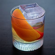 Spiced Old Fashioned: This spicy-sweet tequila cocktail is a newfangled take on a classic, with a drizzle of maple syrup for sweetness.
