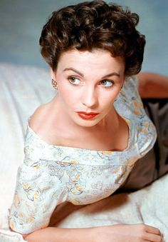 """Classic and stunning, Jean Simmons in fifties style. The latter half of the decade didn't bring as many noteworthy films, but """"The Big Country,"""" with Gregory Peck was an epic story with a top-notch ensemble cast: Charlton Heston, Burl Ives, Charles Bickford, Carroll Baker, and Chuck Conners. """"Home Before Dark"""" also in 1958, was another good vehicles for Simmons."""