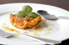 Selbstgemachte Ravioli mit Käse-Kräuterfüllung. #Ravioli #Pasta