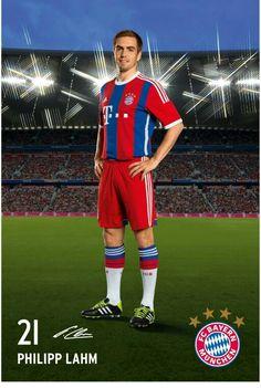 Philipp Lahm, FC Bayern München. #FCB #MiaSanMia #Lahm
