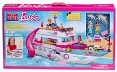 Mega Bloks Barbie Luxury Yacht