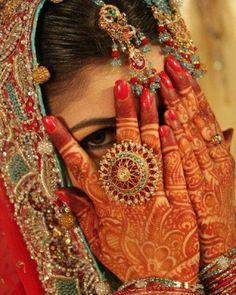 Indian Bridal Mehandi Designs 2014 . #mehndidesigns, #mehnditattoos, #henna, #mehndi2014