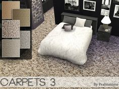Sims 4 CC's - The Best: Carpets by Pralinesims