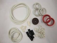 Williams Liberty Bell Pinball White Rubber Ring Kit by Game Room Guys. $21.09. Photo is of a Universal Kit. Your kit will include all necessary parts for full rubber replacement. Pinball Rubber Ring Kit. Includes rubber rings, flipper rubbers, ball shooter tip, etc. Post caps not included.. Custom built for this specific pinball. Not really sure exactly which rubber rings you need for your pinball machine?  Do not worrry because these custom built kits come with everyth...