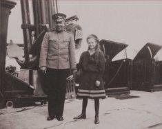 Tatiana -second daughter of Tsar Nicholas II, smiling on the royal yacht the Standart.