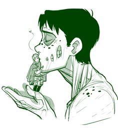 Titan Marco + Jean sooo cute