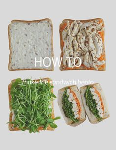 How to make sandwiches for bento #005/7 steps for honey mustard chicken sandwich