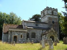 Gussage St Michael Church in Dorset