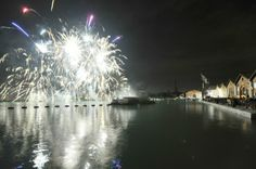 #venicecarnival amazing fireworks on the water