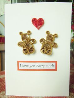 Yuenie's Fancies - Handmade quilled pop up cards, bookmarks, gifts and all things paper!
