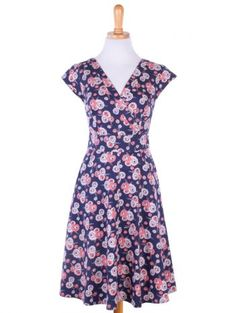 Oberlin dress blue #fairtrade #pinup #retro @matatraders