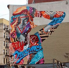 Tristan Eaton in Lower Manhattan #TristanEaton #Streetart #TheLISAProject The LISA Project NYC