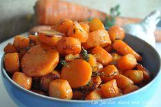carottes sautées à l'ail - Un jardin dans ma cuisine
