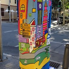 Perception: by Lizz Robb. Urban Smart Art projects in Brisbane. Open again in 2013. C would love to do....