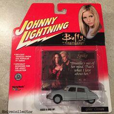 Johnny Lightning - Buffy the Vampire Slayer Collectible Car - Giles Citroen - Matte Grey. #btvscollector #btvs #buffy #buffythevampireslayer