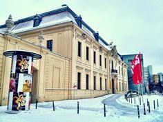Jüdisches Museum Berlin im Schnee. Foto: @Jenni Fuchs